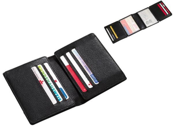Porte-cartes en cuir véritable 12 pochettes  - visuel 2