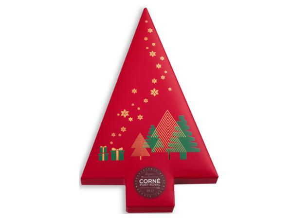 Boîte Sapin de Noël Garnie 23 Chocolats 294G - visuel 2