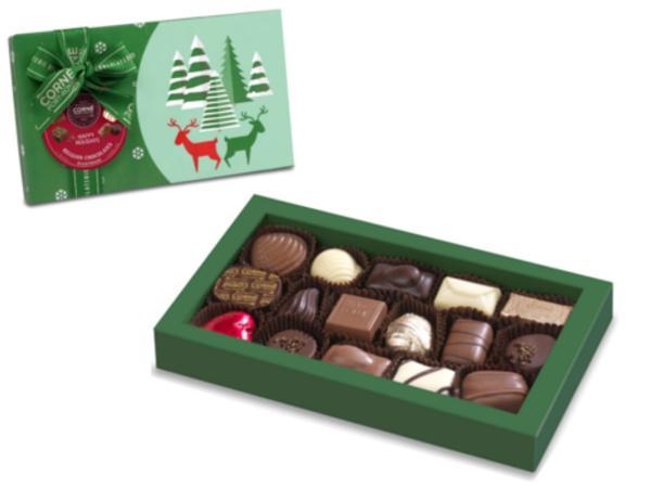 Boîte  Rectangulaire Noël  216 G