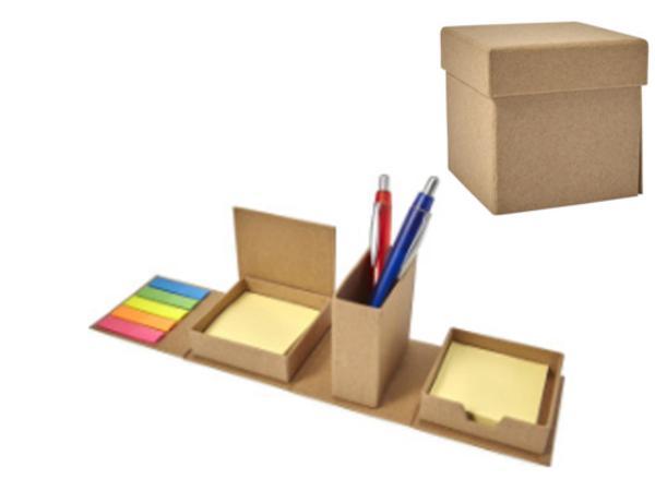 Ensemble Pots à Crayons et Papier Repositionnables