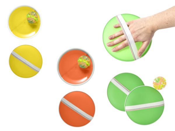 Set de 2 Raquettes avec Balle à Ventouse - visuel 2