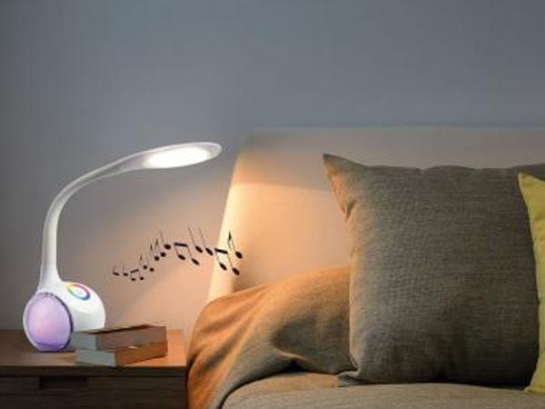 Lampe LED Enceinte