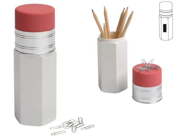 Pot à Crayon en forme de Crayons