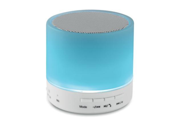 Haut Parleur 3W Bluetooth avec LED 3 Couleurs