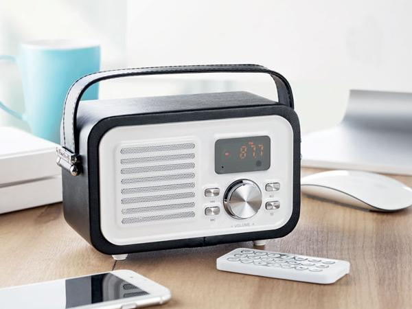 Haut-Parleur Bluetooth  5 W et Radio