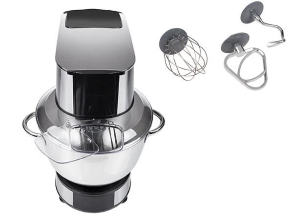 Kitchen Machine Corps Inox 6 L d'une Puissance de 1200 Watts - visuel 2
