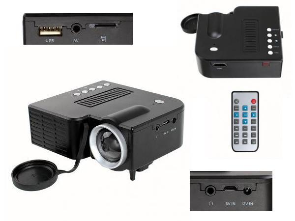 Projecteur Lecteur Multimédia Portable - visuel 2