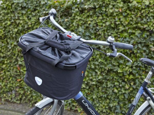 Panier Adaptable de 20 L au Guidon du Vélo