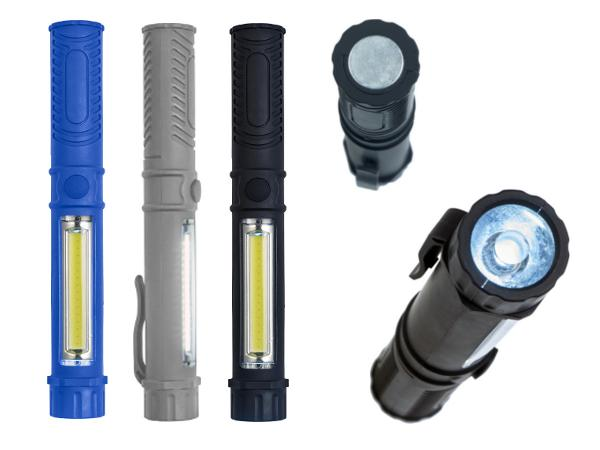 Torche en ABS munie de LEDS COB