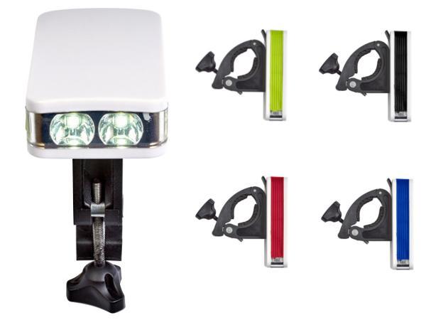 Lampe à Vélo Amovible munie de LEDS COB