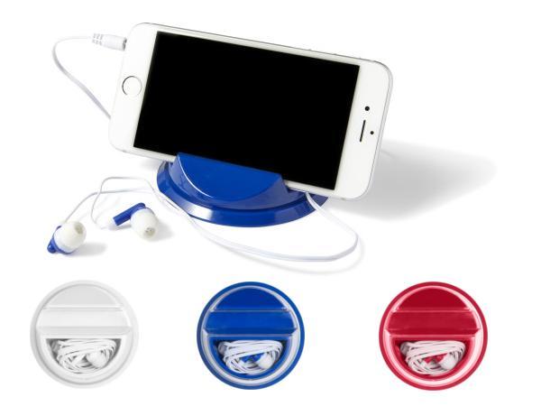 Support de Smartphone muni d' Ecouteurs avec un Cordon de 108 cm