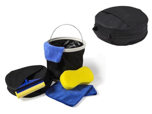 Set de Nettoyage pour Voiture ou Moto dans une Housse
