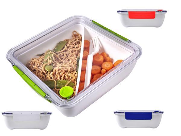 Lunchbox de 0.92 l avec Fourchette et Couvercle Clipsable