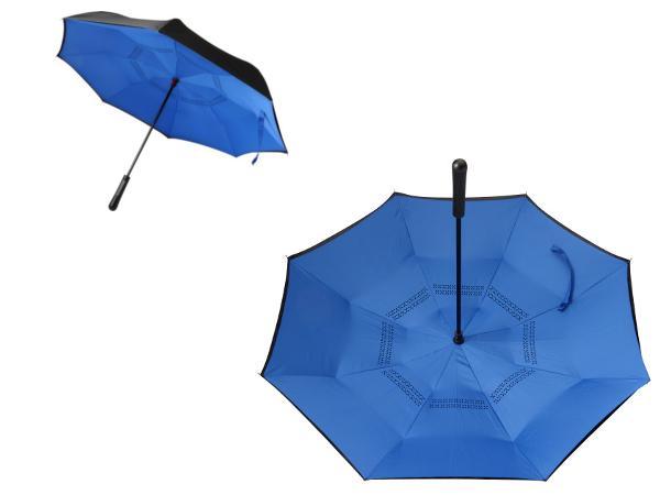 Parapluie Réversible pour ne plus être mouillé en le repliant - visuel 2