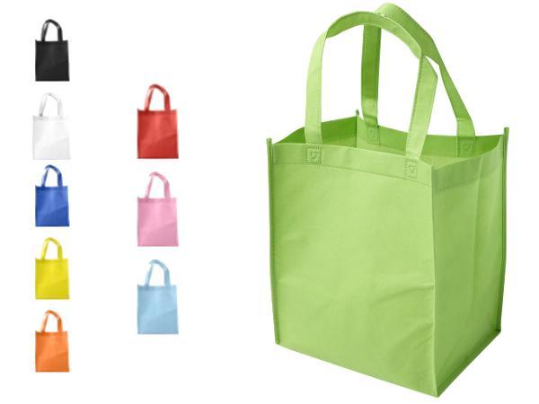 Sac Shopping en Non-Tissé 80g/m2 avec Anses