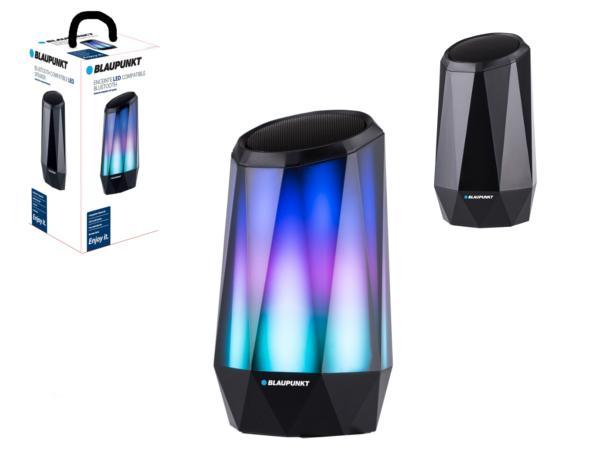 Enceinte Blaupunkt Diamant Led de 5 W compatible Bluetooth - visuel 1