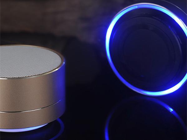Enceinte Blaupunkt à Led Bleue de puissance 5 W - visuel 1