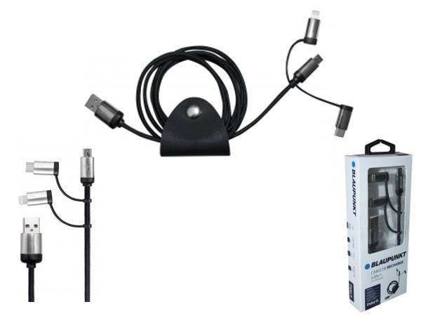 Câble de Recharge Blaupunkt 3 en 1