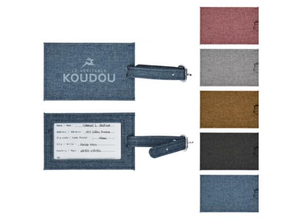 Etiquettes de Valise en Polyester  Lin