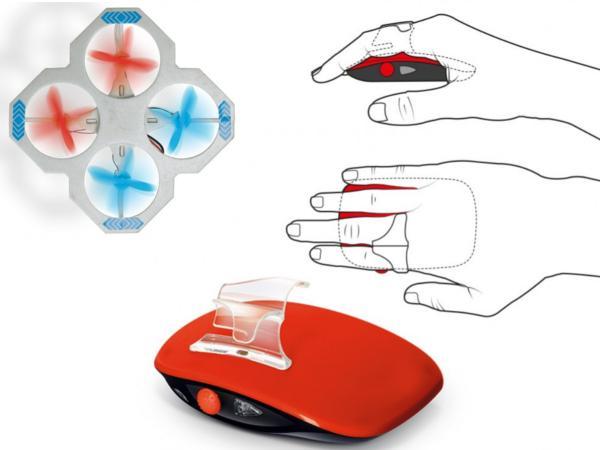 Mini Drone Télécommandé par les Mouvements de la Main - visuel 2