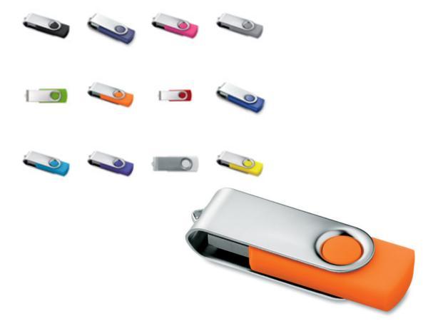 Clé USB Articulée en Métal et Plastique