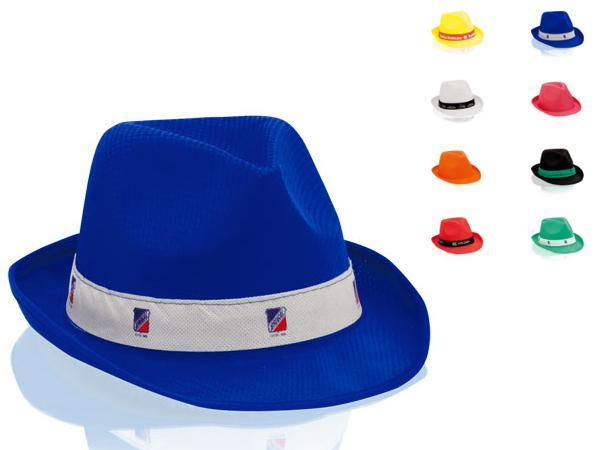 Chapeau Forme Panama Coloré