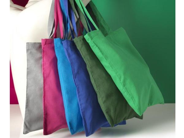 Sac Shopping en Coton Coloré