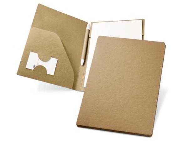Conférencier en Carton Recyclé de 20 Feuilles A5 Non-Lignées