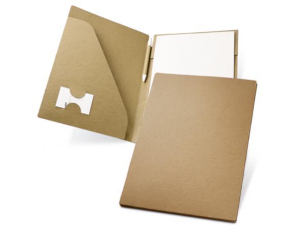 Conférencier en Carton Recyclé de 20 Feuilles A4 Non-Lignées*