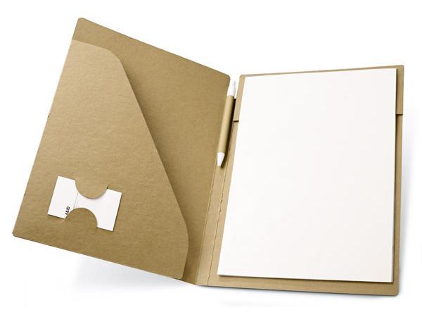 Conférencier en Carton Recyclé de 20 Feuilles A4 Non-Lignées* - visuel 3