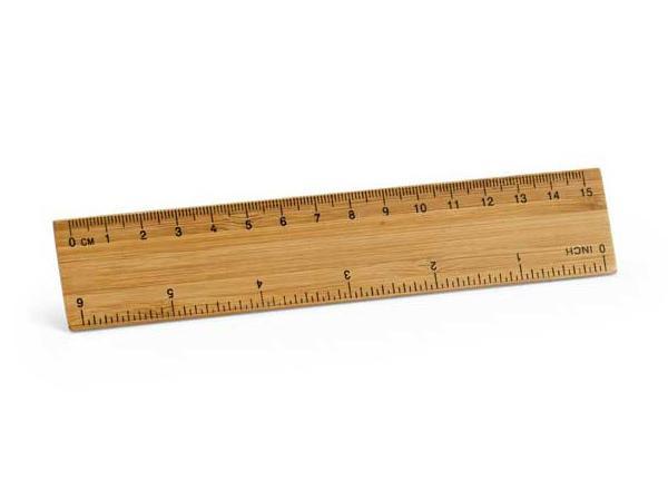 Règle en Bambou de 15cm