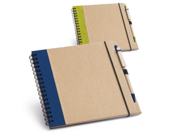 Bloc-Notes de 60 Feuilles Non-Lignées de Papier Recyclé - visuel 1