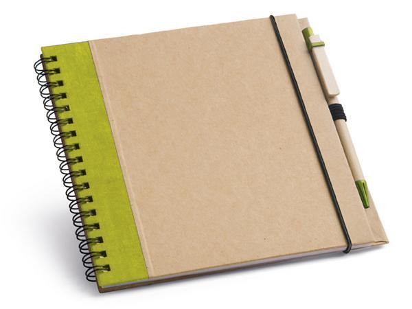 Bloc-Notes de 60 Feuilles Non-Lignées de Papier Recyclé - visuel 2