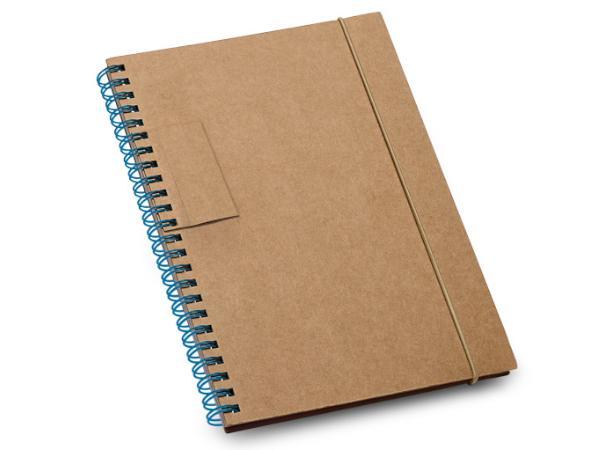 Bloc-Notes en Carton de 60 Feuilles Lignées en Papier Recyclé - visuel 3