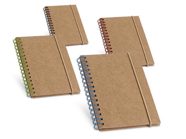 Bloc-Notes de 60 Feuilles Lignées en Papier Recyclé