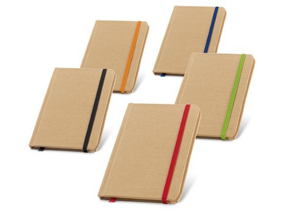 Bloc-Notes de 80 Feuilles Non-Lignées en Papier Recyclé