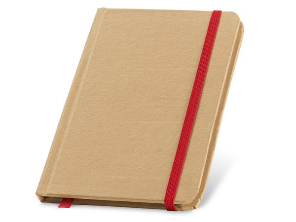 Bloc-Notes de 80 Feuilles Non-Lignées en Papier Recyclé - visuel 2