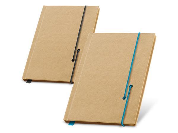 Bloc-notes de 60 Feuilles non lignées en Papier Recyclé