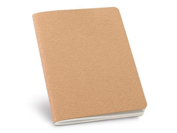 Bloc-Notes avec 30 Feuilles Non-Lignées de Papier Recyclé