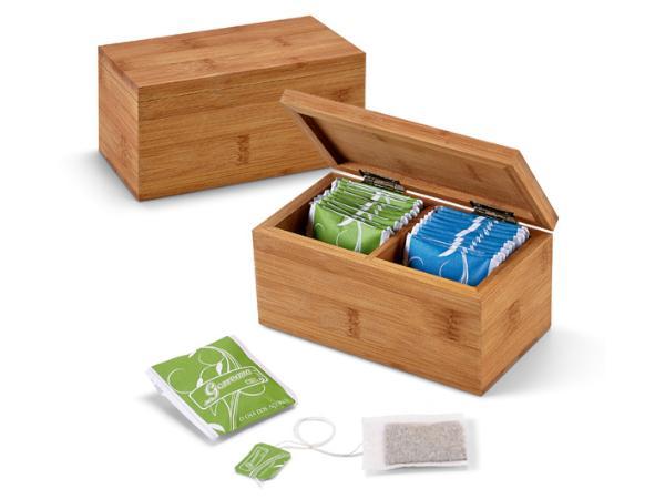 Boîte à Thé en Bambou