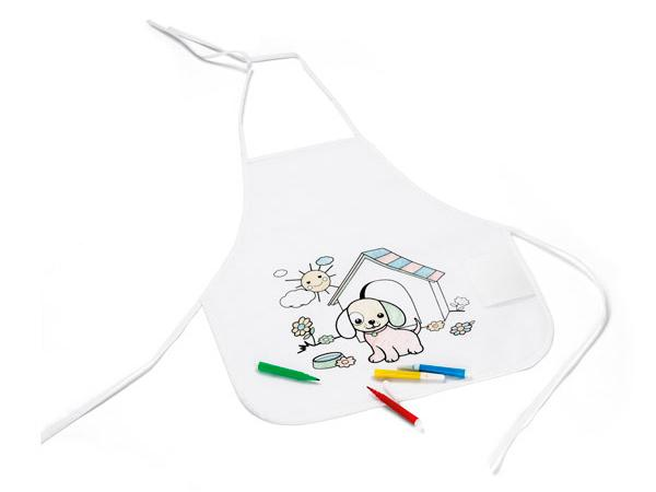 Tablier pour Coloriage d'Enfant - visuel 2