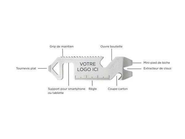 Outil Multifonctions Support pour Smartphone  - visuel 3
