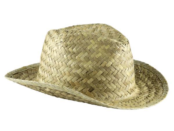 Chapeau fabriqué en Paille en Taille Unique