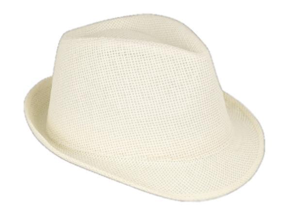 Chapeau en Papier avec Bord Court