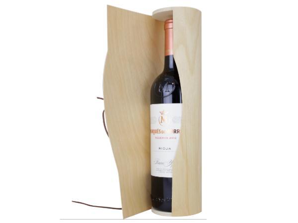 Boîte à Vin Fabriquée en Bois