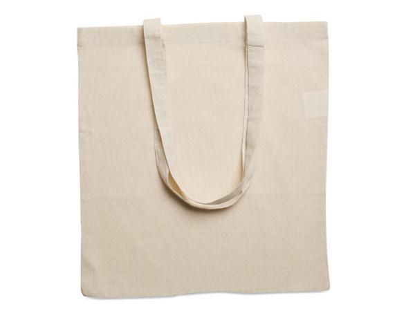Sac de Shopping en Coton 105/g/m² avec de Longues Anses - visuel 2