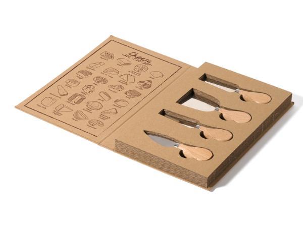 Set à Fromage Livré dans un Emballage Écologique - visuel 2