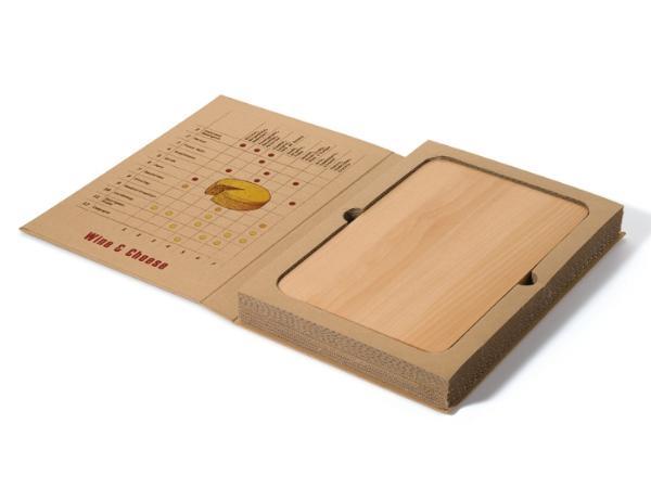 Set à Vin et Fromage Présenté dans une Boîte Recyclable - visuel 2