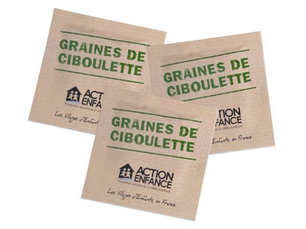 Sachet de Graines au Choix 5.5 X 5.5 cm