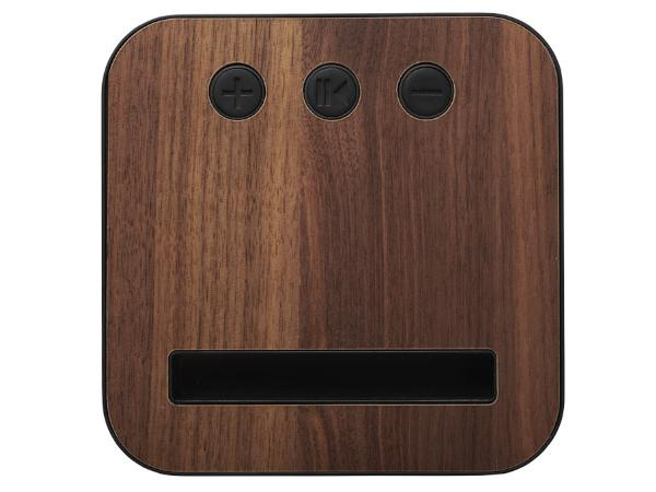 Enceinte Bluetooth en Tissu et Bois 5 Watts - visuel 3